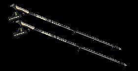 Карбоновые палки для скандинавской ходьбы Gabel e-poles G-1A 110-130 см