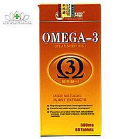 Капсулы Омега 3 Shan Hua Tang (Улучшение мозговой деятельности, регулирует содержание липидов в крови)