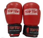 Боксерские перчатки Top Ten Competition Red 8