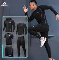 Компрессионная одежда для спортзала 5 в 1