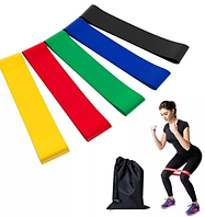 Набор фитнес-резинок (5 штук)