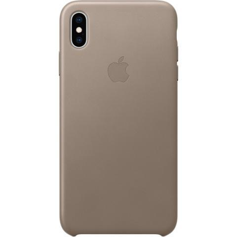 IPhone XS Max Leather Case - Taupe, Model - фото 1