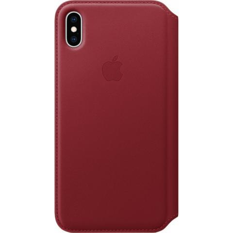 IPhone XS Max Leather Folio - (PRODUCT)RED, Model - фото 1