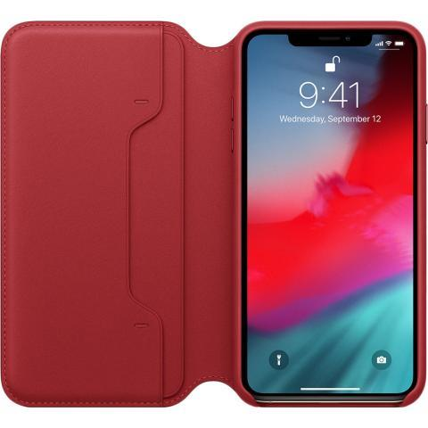 IPhone XS Max Leather Folio - (PRODUCT)RED, Model - фото 3