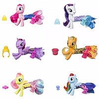 """Hasbro Hasbro My Little Pony Май Литл Пони """"Мерцание"""" Пони в волшебных платьях -"""