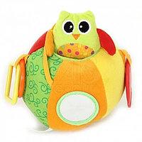 "i-Baby (Китай) I-BABY Развивающая игрушка ""Сова"" на мяче 17см ( в кор. по 24 шт.) -"