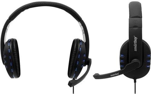 Полноразмерная игровая стереогарнитура SmartBuy PLATOON AMX Edition
