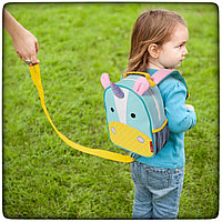 Мини-рюкзак с поводком безопасности skip hop zoo let harness