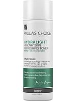 Освежающий тоник для здоровой кожи HYDRALIGHT с зеленым чаем и гиалуроновой кислотой для жирной кожи