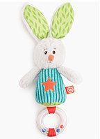 Погремушка-трещотка Happy Baby Заяц Макс