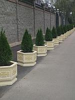 Малые архитектурные формы (вазоны,скамейки, урны), элементы благоустройства территории