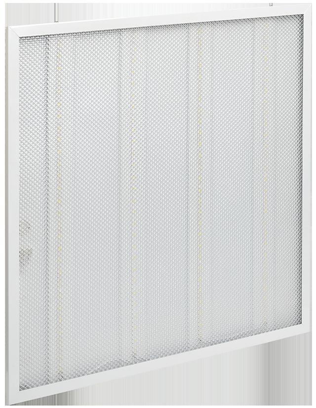 Панель светодиодная ДВО 6561-P 36Вт 4000К призма IEK
