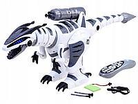 Динозавр-робот на пульте управления игрушка. Стреляет