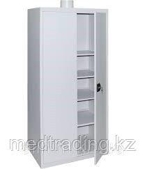 Шкаф 2-х створчатый, Металлический, для хранения химических реактивов, фото 2