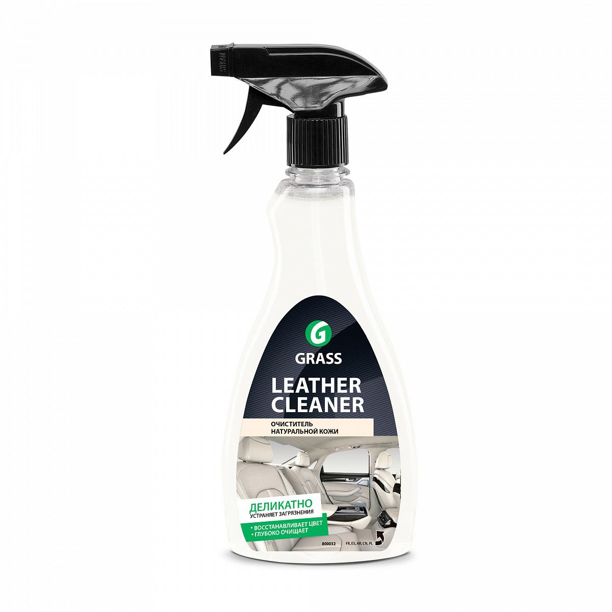 """Очиститель натуральной кожи """"Leather Cleaner"""" ( флакон 500 мл)"""