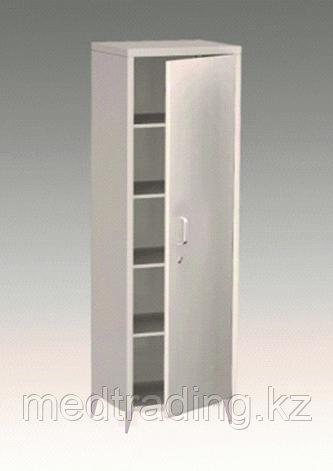Шкаф медицинский металлический одностворчатый, фото 2