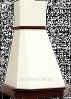 Вытяжка Elikor Камин Грань 90П-650-П3Л беж/дуб неокр.
