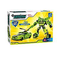 Игровой конструктор, Ausini, 25613, Роботы, Военный спортивный автомобиль, 344 детали, Цветная коробка