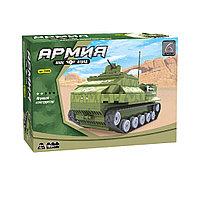 Игровой конструктор, Ausini, 22408, Армия, Армейский бронетранспортер, 199 деталей, Цветная коробка