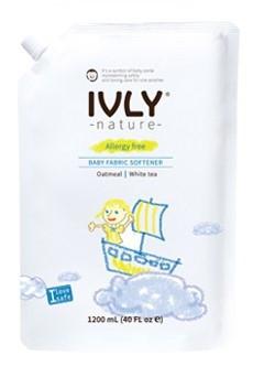IVLY NATURE BABY FABRIC SOFTENER Кондицинер для Белья с  экстрактами Овсянки и Белого Чая 1200мл.