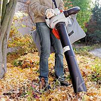 Всасывающий измельчитель STIHL SH 56 (0,7 кВт   710 м3/ч) бензиновый садовый пылесос и воздуходувка, фото 3