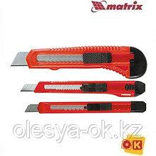 Набор ножей, 9-9-18 мм, 3 шт. MATRIX