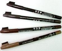 Карандаш для бровей FLORMAR Eyebrow Pencil 404 Black