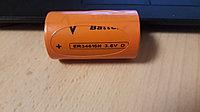 Батарейка MINAMOTO ER34615Н Lithium, 3.6В, D 19000 мАч с коннектором