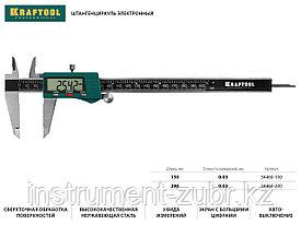 Штангенциркуль KRAFTOOL электронный, металлический, 200мм