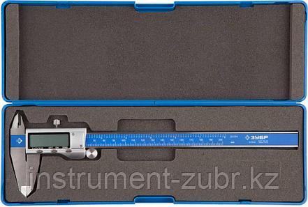 Штангенциркуль ЗУБР, ШЦЦ-I-200-0,01,цифровой, нерж. сталь, металлический корпус,200мм, шаг измерения 0,01мм, фото 2