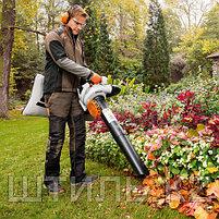 Всасывающий измельчитель STIHL SH 86 (0,8 кВт | 770 м3/ч) бензиновый садовый пылесос и воздуходувка, фото 2