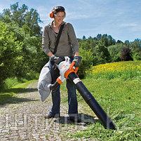 Всасывающий измельчитель STIHL SHE 81 (1,4 кВт | 650 м3/ч) электрический садовый пылесос и воздуходувка, фото 2