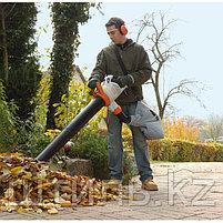Всасывающий измельчитель STIHL SHE 71 (1,1 кВт | 580 м3/ч) электрический садовый пылесос и воздуходувка, фото 2