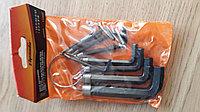 Набор ключей имбусовых HEX, SPARTA 112665 (1,5 10 мм, CrV, 10 шт, оксидированные, на кольце)