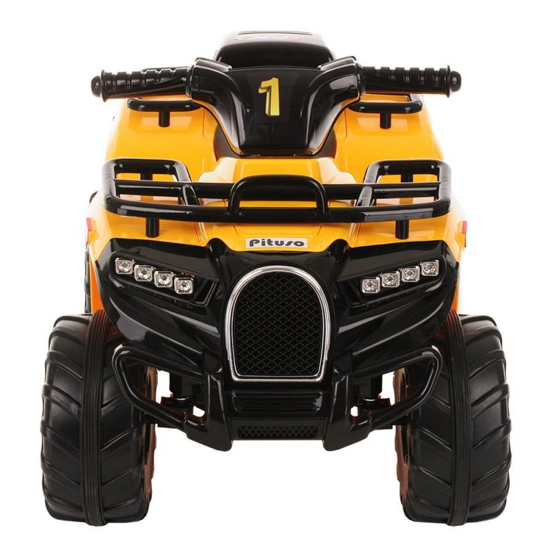 Детский электроквадроцикл PITUSO 78*50*47 см, желтый/YELLOW