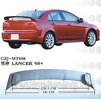 Спойлер задний на Mitsubishi Lancer 2008-17 вариант 2