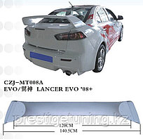 Спойлер задний на Mitsubishi Lancer 2008-17 вариант 3