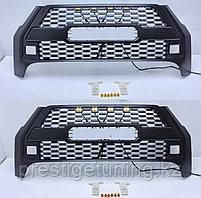 Решетка радиатора на Toyota Hilux 2020- дизайн Rocco