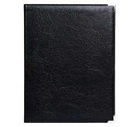 Папка адресная OfficeSpace, метал. уголки, кожзам, черная