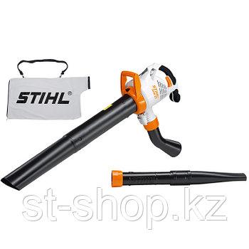 Всасывающий измельчитель STIHL SHE 81 (1,4 кВт | 650 м3/ч) электрический