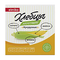 Elmika Хлебцы хрустящие Кукурузные, 95 гр