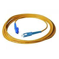 Оптический патч-корд E2000/SC UPC OM1 30 метров оранжевый