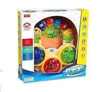 """Игрушка для малышей. Развивающий центр музыкальный Барабан """"Умный Я"""" свет, звук"""