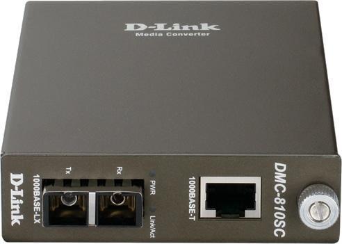 Медиаконвертер D-Link DMC-810SC/B9A, фото 2