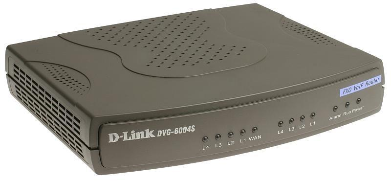VoIP-шлюз D-Link DVG-6004S, фото 2