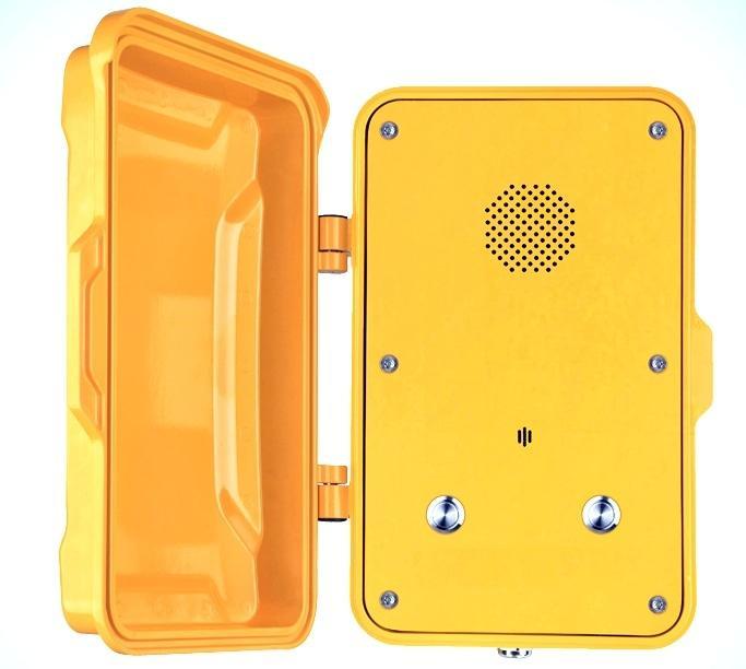 Промышленный SIP телефон J&R JR102 (две кнопки)
