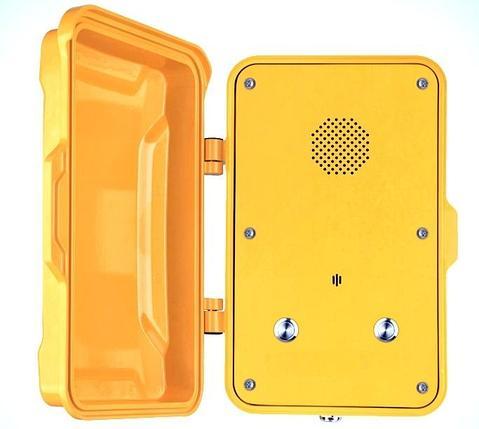 Промышленный SIP телефон J&R JR102 (две кнопки), фото 2
