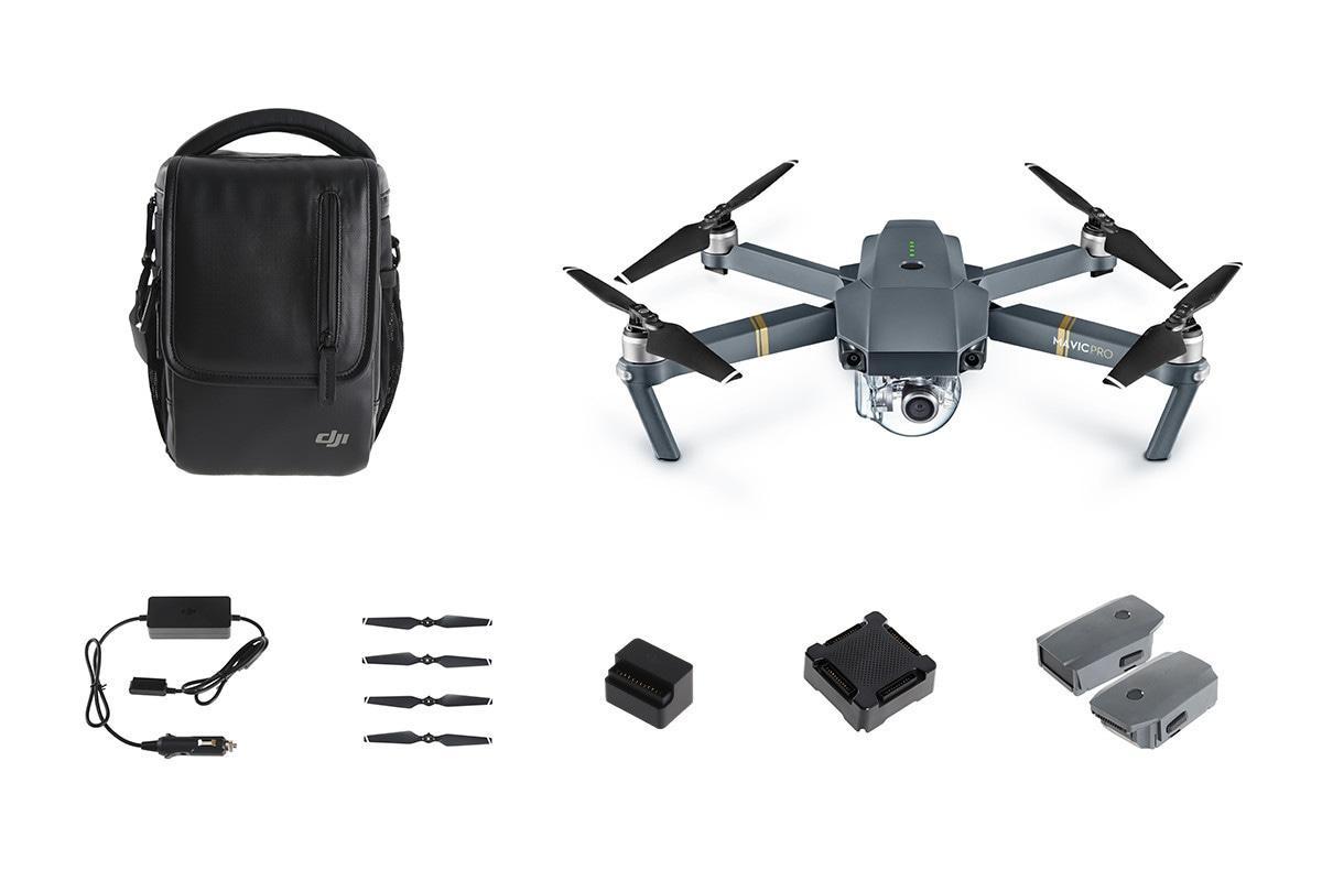 Комбо-набор дрон DJI Мavic PRO и аксессуары Refurbished