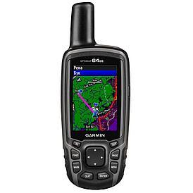 GPS навигатор Garmin GPSMAP 64st топокарта Европы