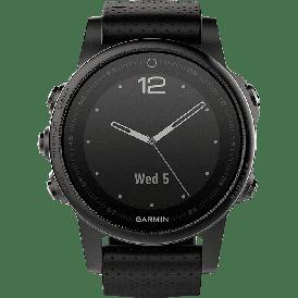 Смарт-часы Garmin Fenix 5S Sapphire черный